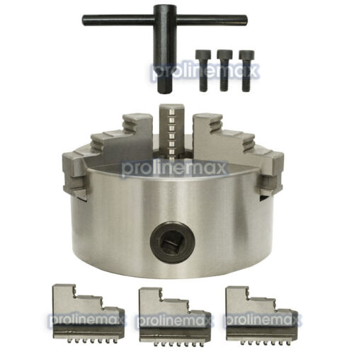 BS-1 Precision Semi Universal Dividing Head Tailstock Spindle w// 6/'/' 3 JAW CHUCK