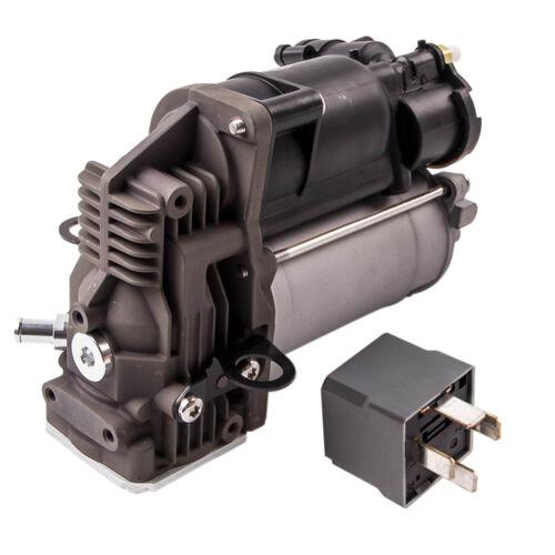 Air Suspension Air Compressor Pump For Mercedes Benz GL550  W164 w// Relay