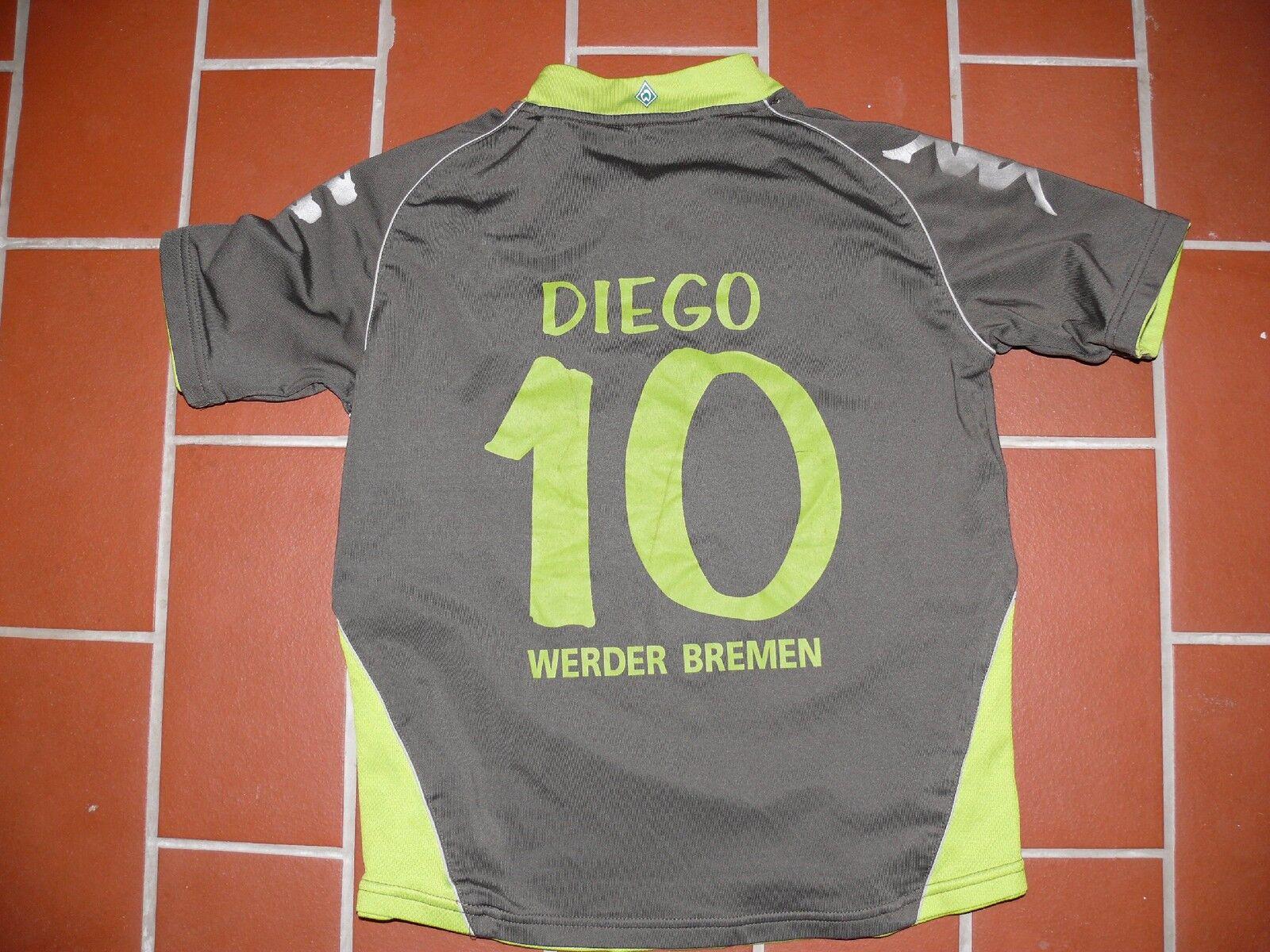 Sv Werder Bremen Evento Maglia Saison 20072008 10 Diego Manica Corta Yl 140