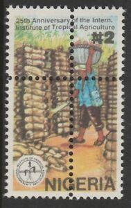 Nigeria 2684 - 1992 TROPICAL AGRICULTURE MISPLACED PERFS unmounted mint
