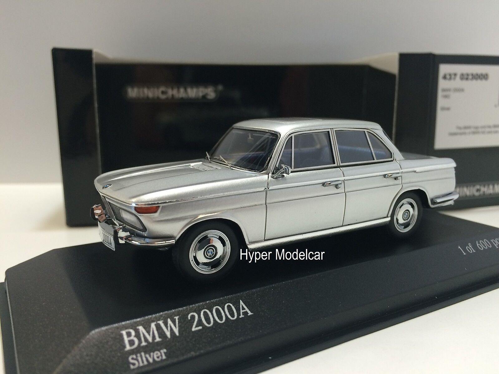calidad de primera clase MINICHAMPS 1 43 43 43 BMW 2000A 1967 plata Art. 431023100  mejor oferta