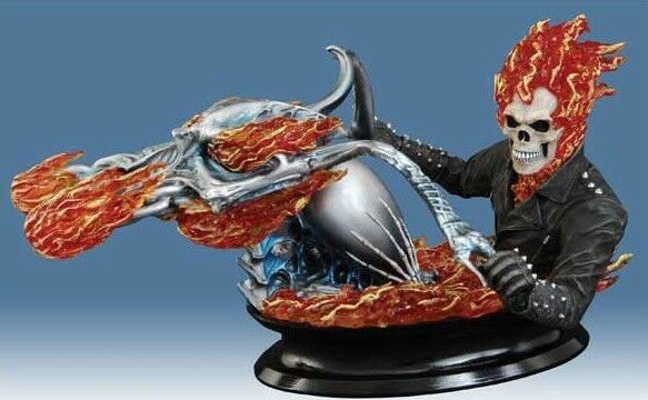 Marvel Ghost Rider Movie Bust Bust Bust by Diamond Select Bnib 78c779