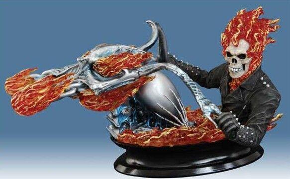 Marvel Ghost Rider Film Busto da NUOVO con scatola Diamond Select