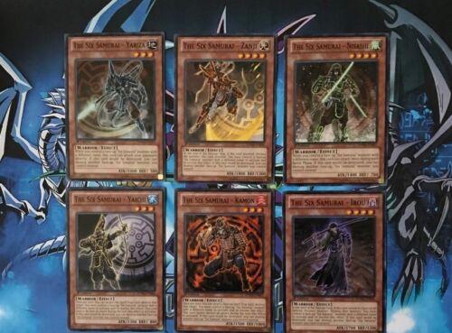Nisashi.. - NM//Mint YuGiOh Zanji - Yariza The Six Samurai 6 Card Set SDWA