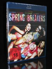 BLU-RAY SPRING BREAKERS - FSK 18 - ROAD-MOVIE - JAMES FRANCO + SELENA GOMEZ *NEU