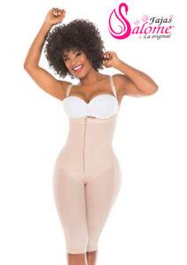 Fajas Colombianas Capri Women/'s Post Surgery Full Body Shaper with Zipper Girdle