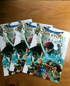 2019 8 2dragon Quest Your Story Chirashi Mini Poster Movie Flyer 3set Anime New Ebay