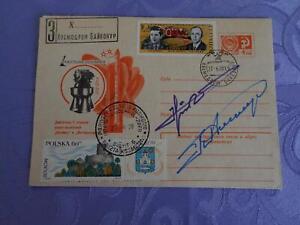 Sojus 33 Start original signiert Klimuk,Hermaszewski Space
