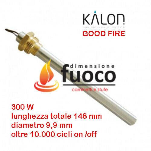 CANDELETTA RESISTENZA ACCENSIONE STUFA PELLET KALON GOOD FIRE  RACC.3//8-1003