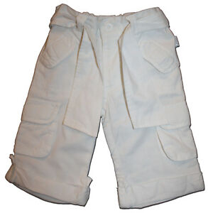 Essential-PUMPKIN-PATCH-Size-1-White-Cotton-Cargo-Pants-MATCH-EVERYTHING