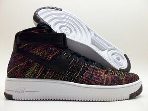 d9a036b17ecc8 NIKE AF1 ULTRA FLYKNIT MID AIR FORCE 1 MULTI-COLOR SIZE MEN S 11.5 ...