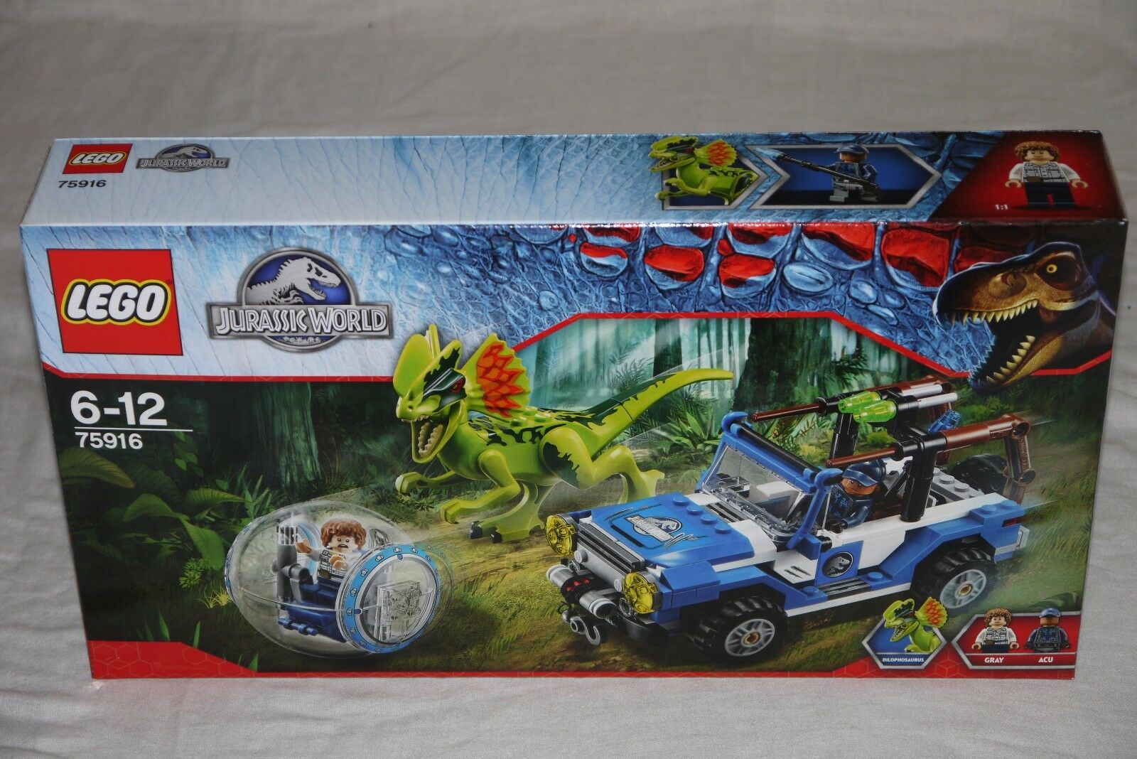 Lego Jurassic World 75916 DILOPHOSAURAS AMBUSH - Brand new