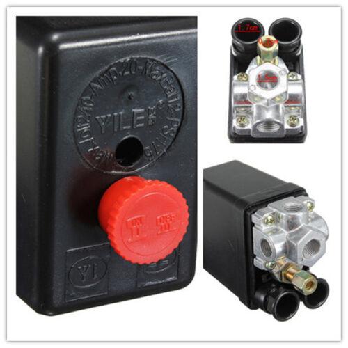 Heavy Duty Air Compressor Pressure Control Switch Valve 175PSI 12 Bar 20A 4