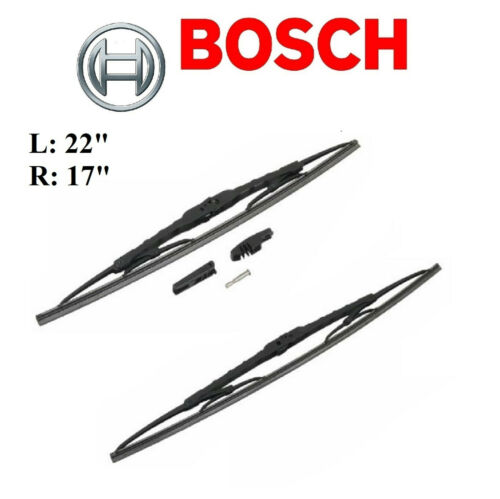 2PCS BOSCH FRONT D-Connect Wiper Blade For CHEVY CAVALIER 1995-2005//COBALT 05-10