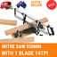 Manual Precision Mitre Saw 550mm 14TPI saw Woodwork with blade 550MM