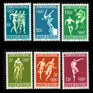 Luxembourg-1968-Olympic-Games-Mexico-Sc-460-5-MNH