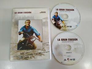 La-Gran-Evasion-Steve-McQueen-2-x-DVD-Edicion-Definitiva-Espanol-English