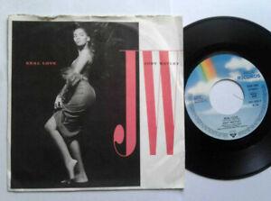 """Jody Watley / Real Love 7"""" Vinyl Single 1989 mit Schutzhülle"""