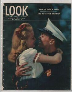 Look Magazine The Roosevelt Children October 30, 1945 010820nonr