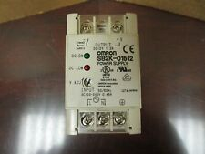 Omron Power Supply S82k 01512 Dc12v 12a Amp 100 240vac 045a Amp S82k 01512