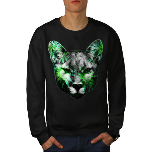 Cute Weed Nuovo Lynx uomo da Black Cat Felpa Animal CwqFSXxa