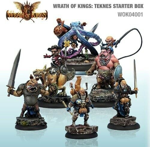 Wrath of Kings House Teknes Starter Box (30) (WOK04001)