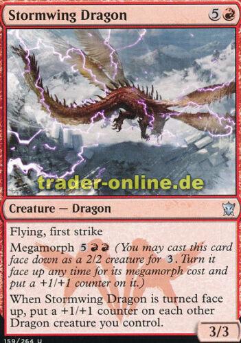 Dragons of Tarkir Magic 2x Stormwing Dragon Gewitterschwingendrache