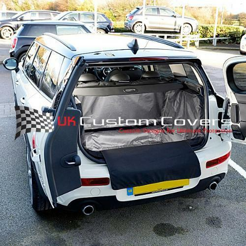 Mini Clubman Floor Removed Tailored Boot Liner Mat Dog Guard