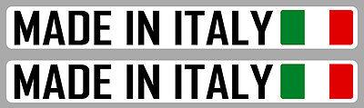 STICKER MADE IN ITALY FIAT 500 VESPA ABARTH ITALIE AUTOCOLLANT AUTO 12cm MB038