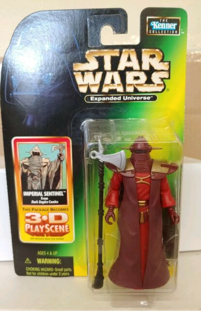 STAR WARS POTF SERIES EXPANDED UNIVERSE DARK EMPIRE IMPERIAL SENTINEL FIGURE