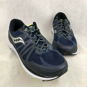 Saucony-Mens-Echelon-6-Running-Shoes-Blue-Silver-S20386-1-Lace-Up-Low-Top-13-XW