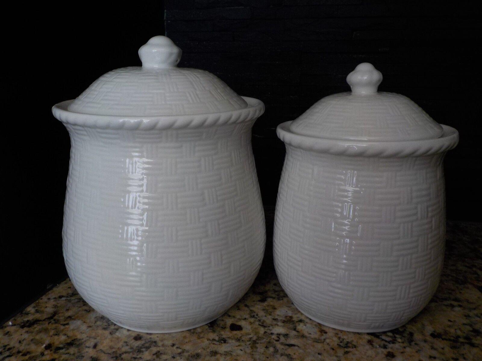 Ophelia Co Modern Ceramic 2 Piece Kitchen Canister Set Set Of 2 For Sale Online Ebay