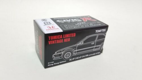 Tomica Limited Honda Civic EK9 97 White H.K Exclusive Tomytec Kyosho tarmac