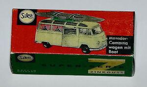 Reprobox-Siku-V-264-Matador-Campingwagen-mit-Boot