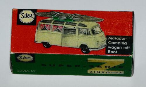 Reprobox siku V 264-matador camping carro con Boot