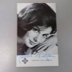 54880 Kann Wiederholt Umgeformt Werden. Autogramm Johanna Von Koczian Um 1970