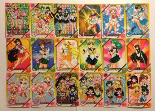 Sailor Moon Stars Graffiti Part 8 Full Set 21//21