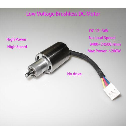 NIDEC BLDC 12V//24V//36V DC High Speed High Power Brushless DC Motor Inner Rotor