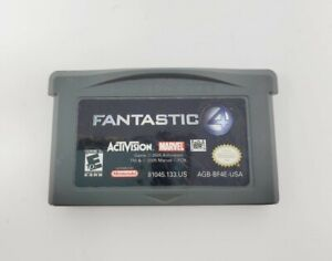 FANTASTIC 4 (Nintendo Game Boy Advanced) GBA Tested Authentic