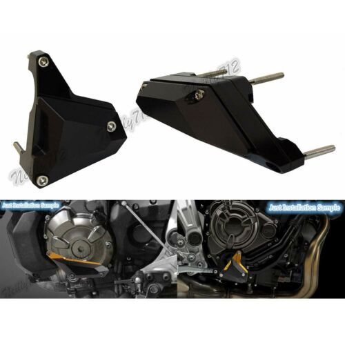 Engine Sliders Crash Pad Protector Black For YAMAHA FZ-07 MT-07 Moto Cage XSR700