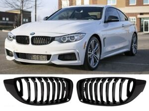 BMW 4 series F32 F33 F36 M performance gloss black kidney grille grilles grills
