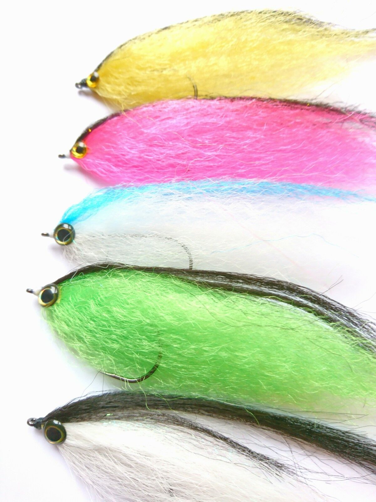10 Large Pike   Zander predatory Fly Lures - Flies by Iain Barr Fly Fishing
