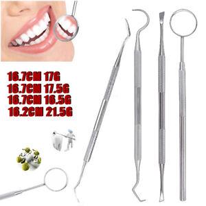 4pcs-Dental-Tooth-Pick-Probe-Set-Of-Kit-Teeth-Clean-Hygiene-Tool-Stainless-Steel