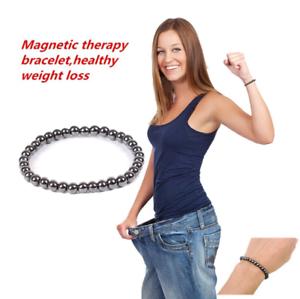 Bracelet extensible en germanium magnétique pour perdre du poids nouveau