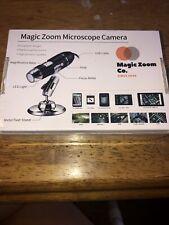 New Listingmagic Zoom Microscope Camera Metal Fixed Stand Usb Led Light Mini Scope New Ee
