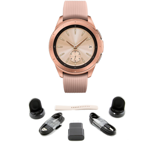 BUNDLE-Samsung-Galaxy-Bluetooth-Watch-42mm-Rose-Gold-SM-R810NZDCXAR