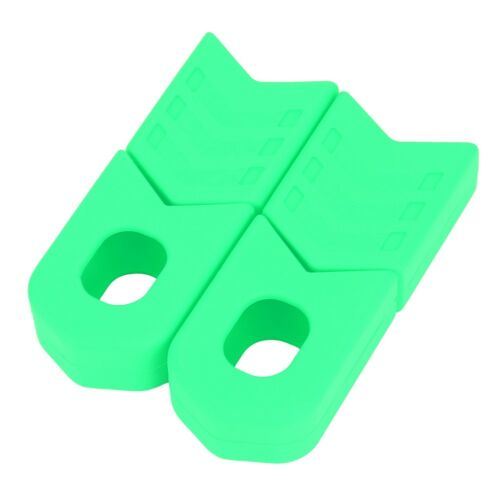 2x MTB Bike Crank Protector Bash Boots For Alloy Crank Arm Bicycle Accessories
