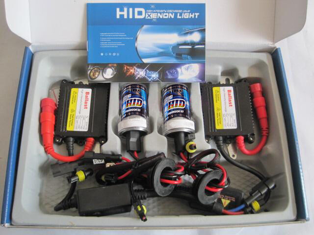 Freeshipping AC 35W H7 Car Xenon HID Conversion Slim Kit All Color for Choose