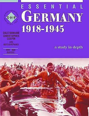 """1 of 1 - """"VERY GOOD"""" Christopher Culpin, Dale Banham, Essential Germany 1918-45: Sudents"""