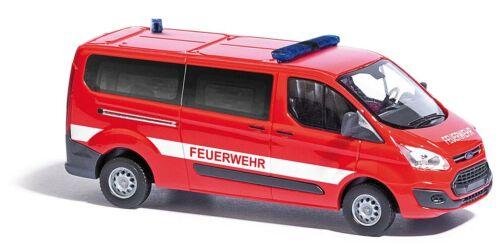 Feuerwehr #NEU in OVP# BUSCH 52420 Spur H0 Ford Transit Custom Bus